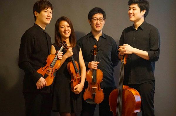 Abel Quartet quatuor à cordes
